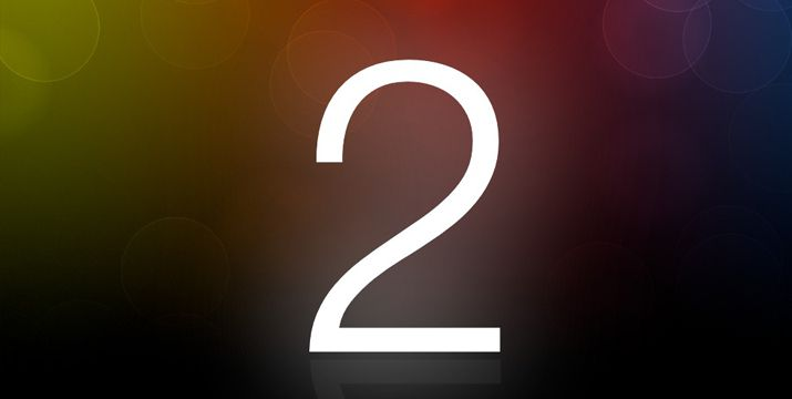 What does the Number 2 symbolize?