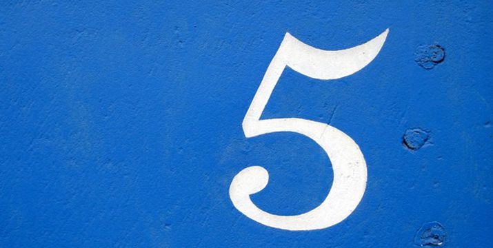What is the Significance of the Number 5?