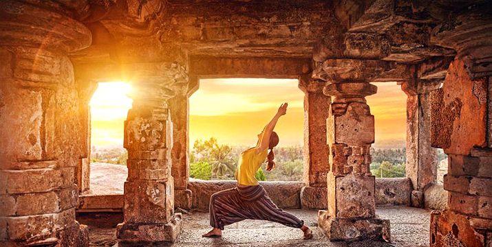 Modern Yoga: The regular, with a twist