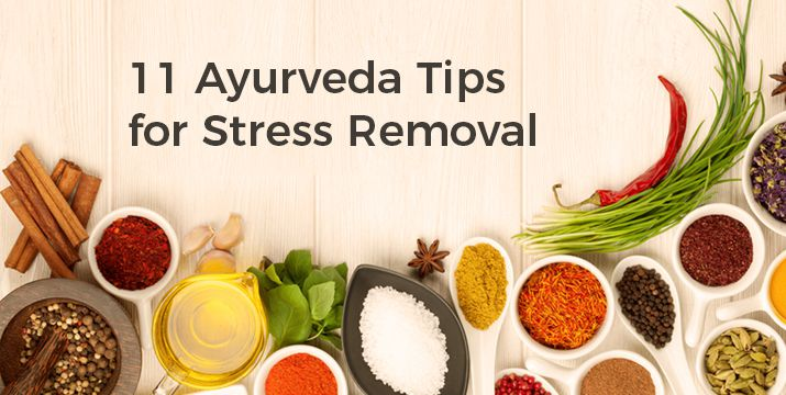 Ayurveda Tips to reduce anxiety and stress